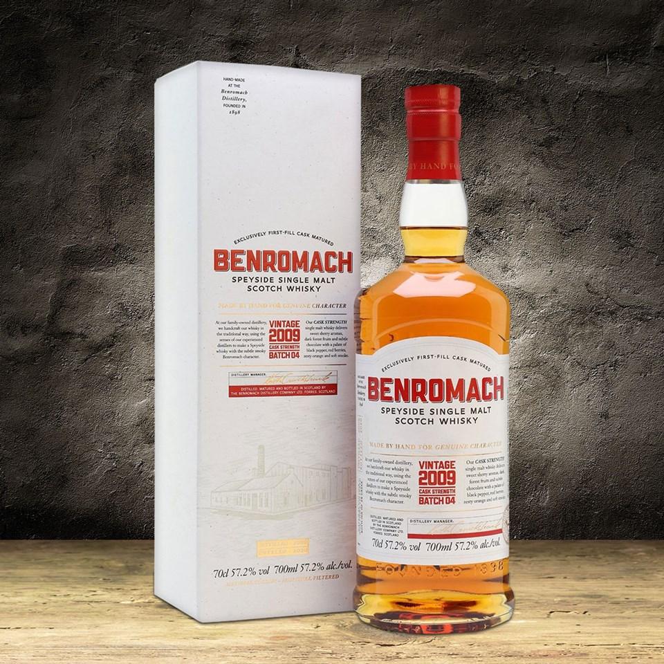 Benromach Cask Strength Vintage 2009 Batch 4