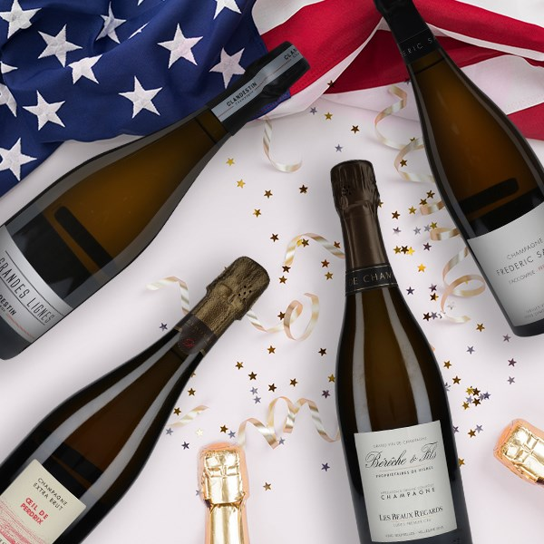 Now Shipping Champagne to the USA