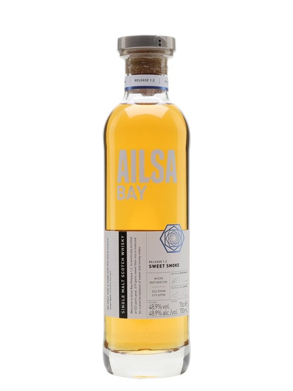 Ailsa Bay Sweet Smoke Lowland Scotch Single Malt Whisky