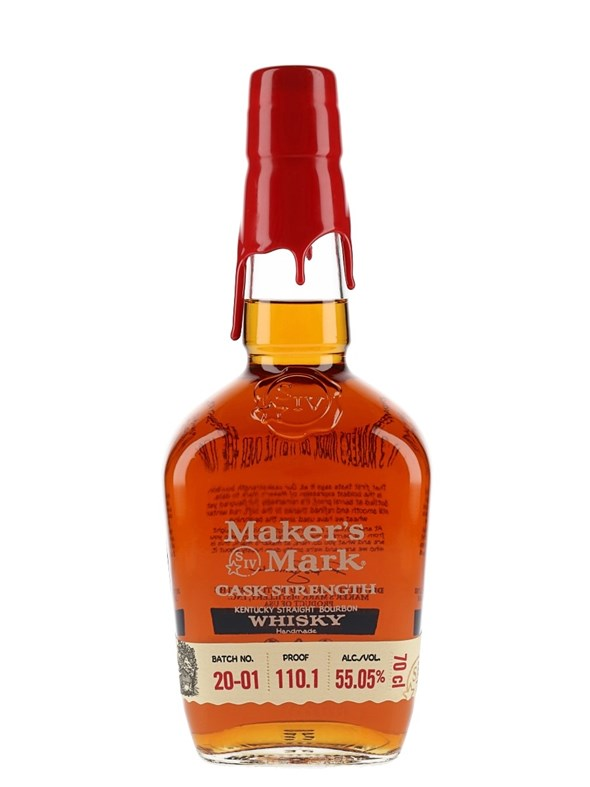 Maker's Mark Cask Strength 55.05% Bourbon Whiskey