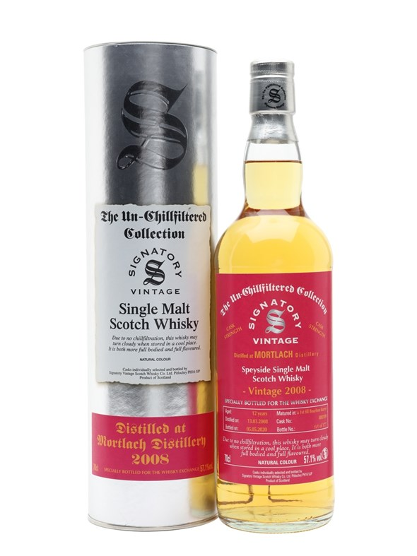 Mortlach 2008 12 Year Old Signatory for TWE