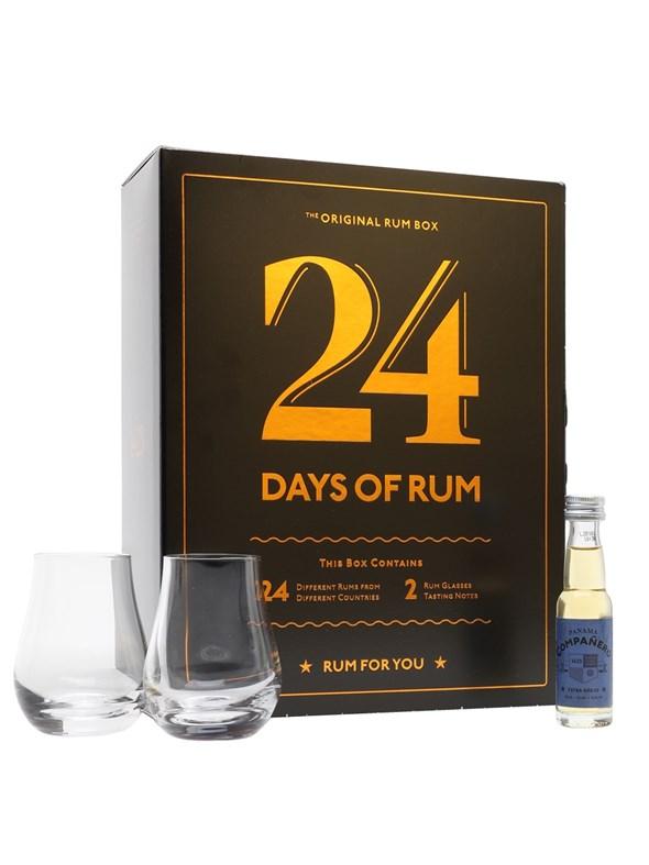 24 Days Of Rum Advent Calendar 24 x 2cl