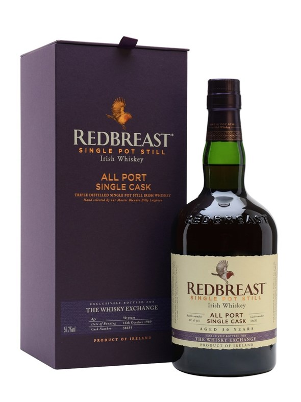 Redbreast 1989 30 Year Old Port Cask TWE Exclusive