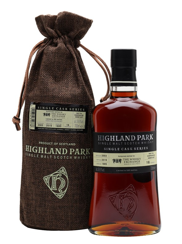 Highland Park 2003 16 Year Old Sherry Cask TWE Exclusive