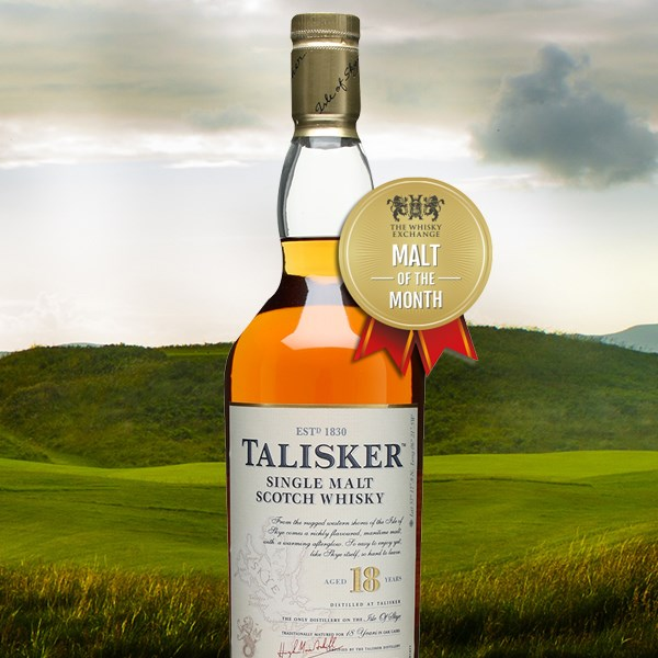 Malt of the Month: Talisker 18 Year Old With Free Engraving