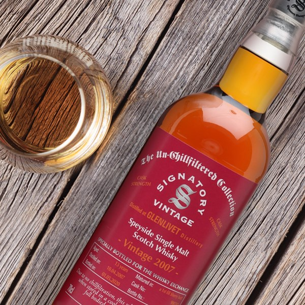 Glenlivet 1007 13 Year Old Sherry Cask Signatory for TWE