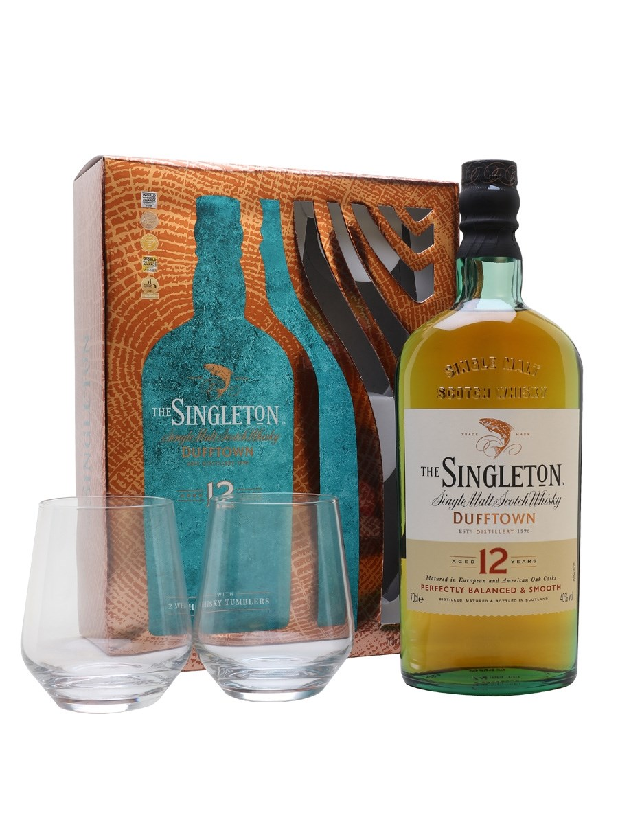 Singleton Of Dufftown 12 Year Old 2 Glass Set