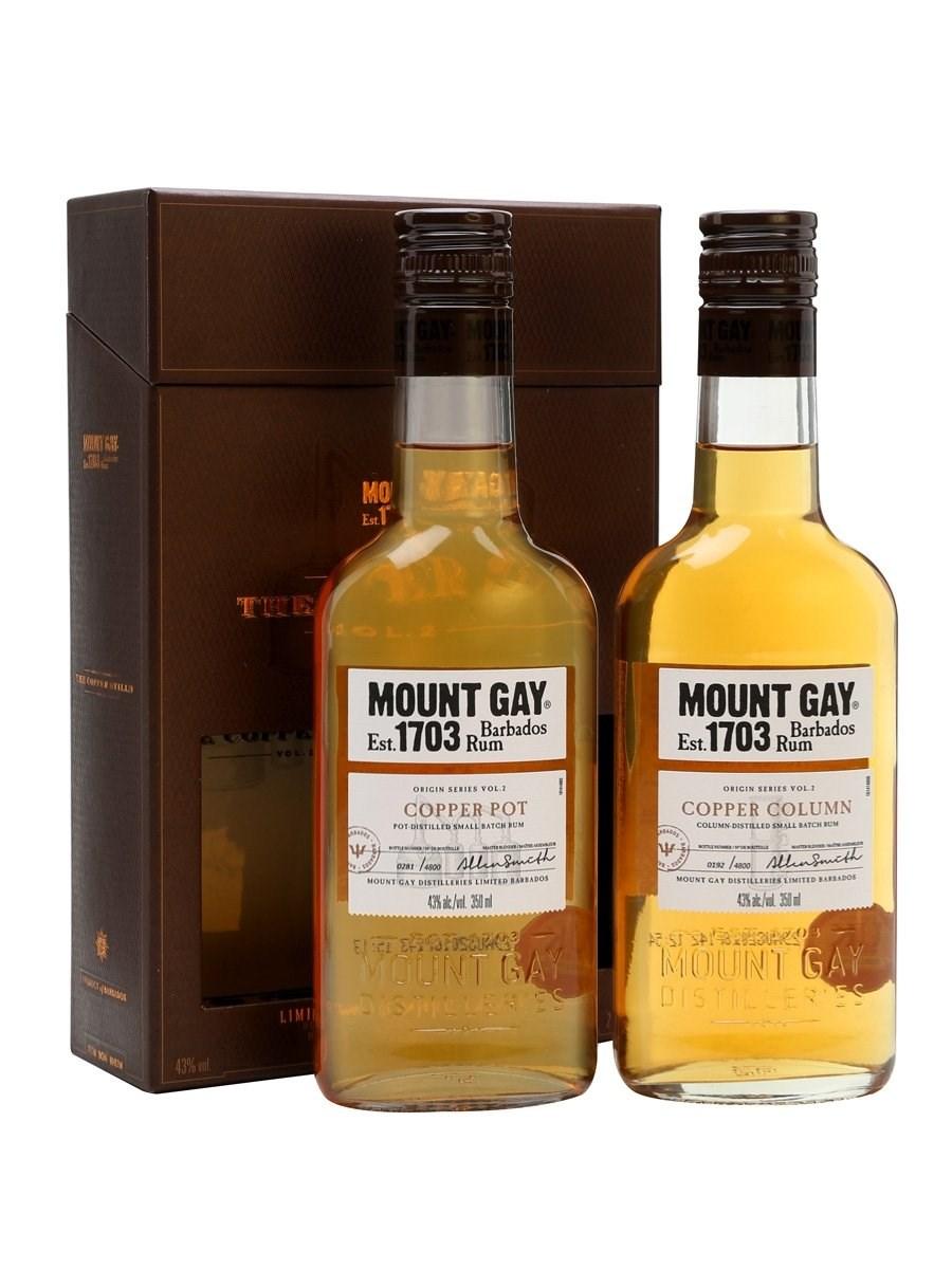 Mount Gay Rum Distillers Origins Gift Pack