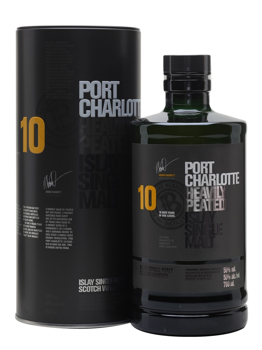 Port Charlotte 10 Year Old Islay Single Malt Whisky