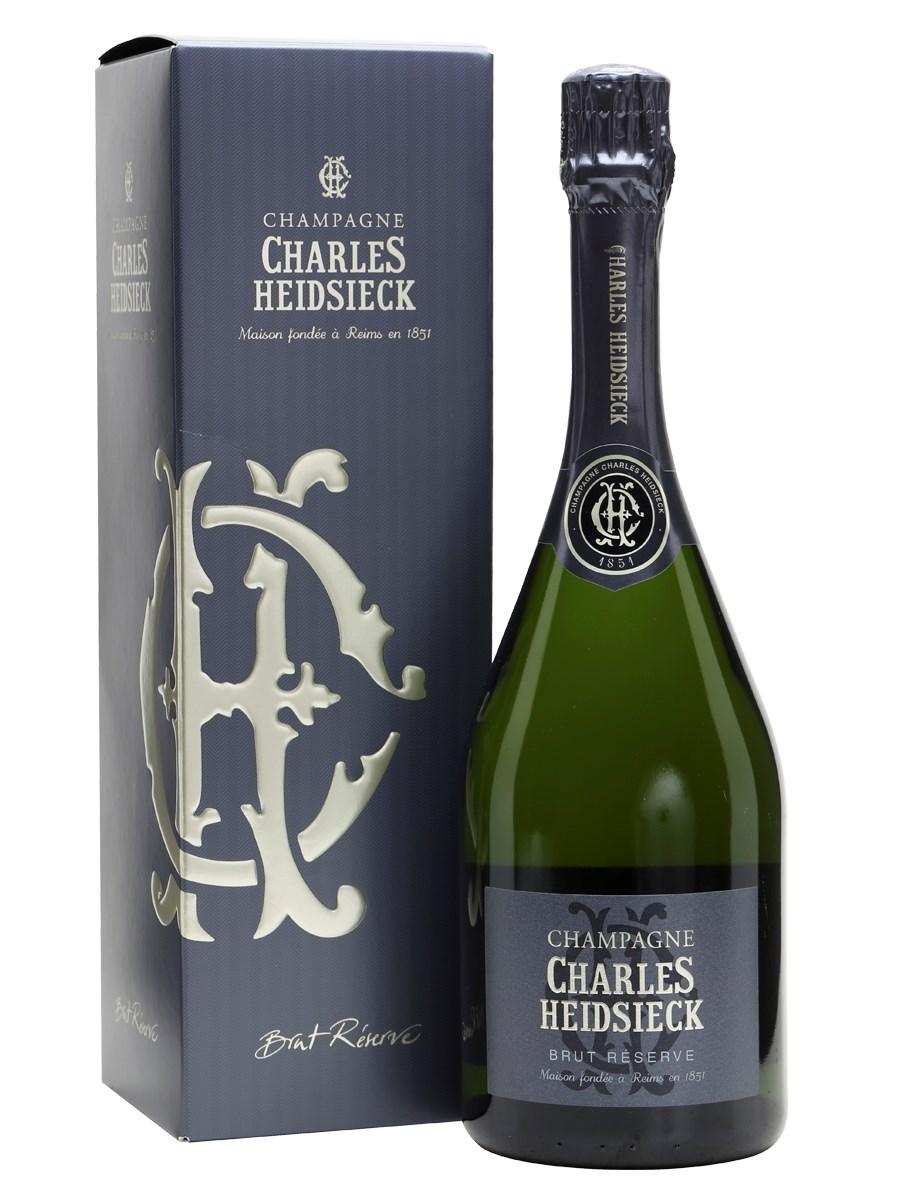 Charles Heidsieck Brut Reserve Champagne Gift Box