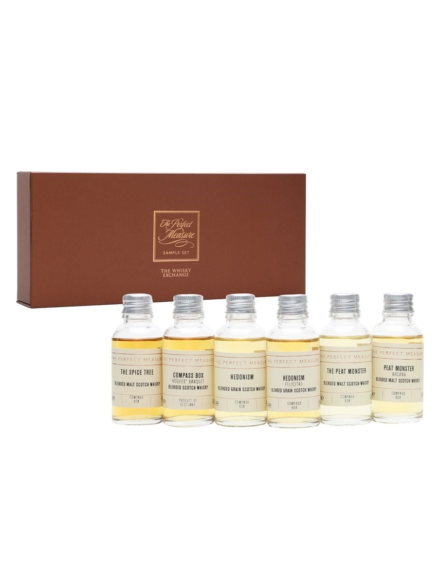 Compass Box 20th Anniversary Whisky Tasting Set 6x3cl