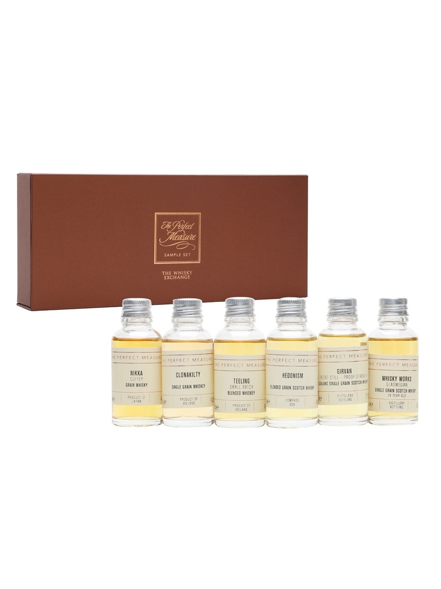 Grain Whisky Is Great Whisky Tasting Set 6x3cl