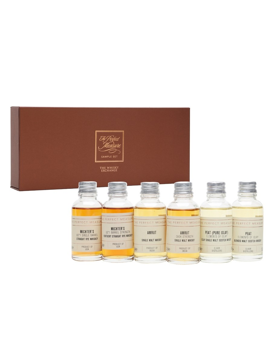 Higher Or Lower Whisky Tasting Set 6x3cl