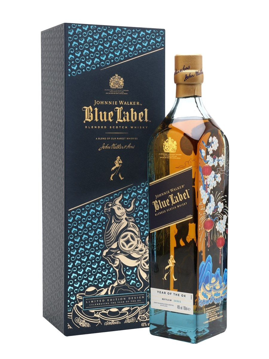 Johnnie Walker Blue Label Year Of the Ox Special Edition