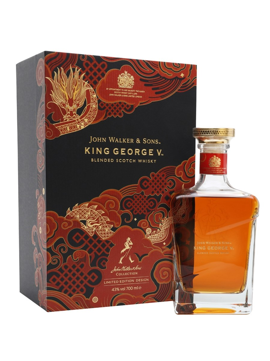 Johnnie Walker Blue Label King George V Chinese New Year 2021