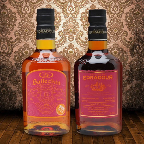 New Exclusives from Edradour and Ballechin