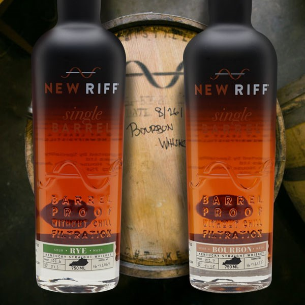 New Riff Barrel Proof Whiskey