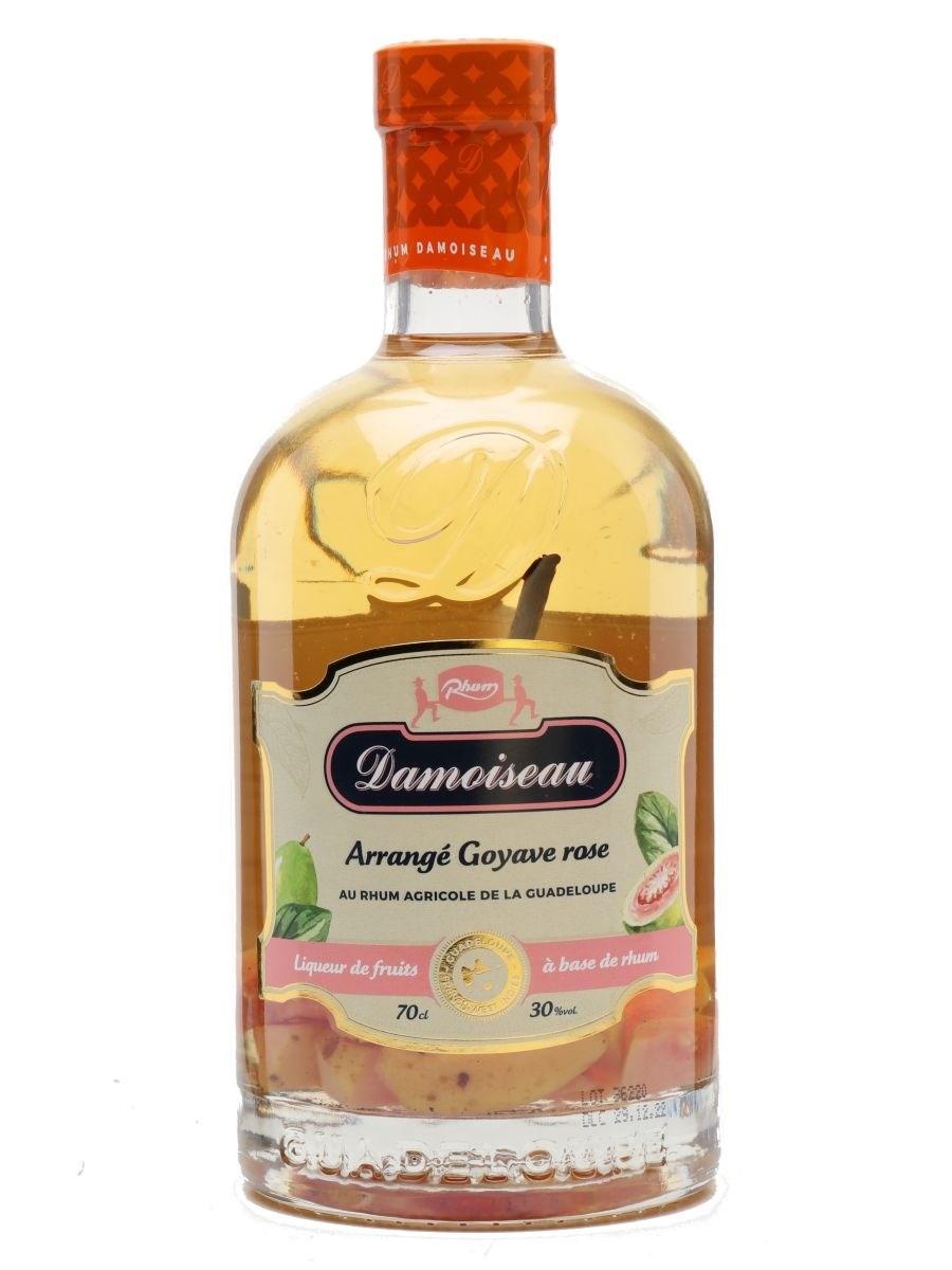 Damoiseau Les Arranges Pink Guava & Vanilla Rum Liqueur