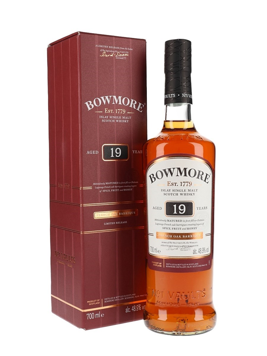 Bowmore 19 Year Old French Oak Wine Barriques